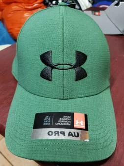 Under Armour Men's UA PRO Stretch Fit Cap Hat 1354396 Green