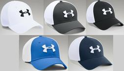 Under Armour Men's UA Threadborne Classic Mesh Golf Cap Stre