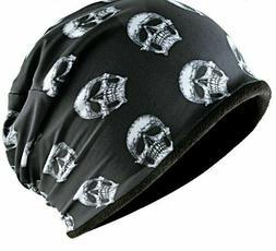 Men's Winter Hats Skullies Beanies Warmers Skull Patterned C