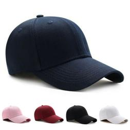 Men Women New Black Baseball Cap Snapback Hat Hip-Hop Adjust