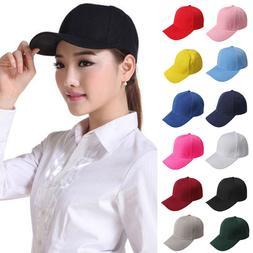 Fashion Women Men Blank Plain Snapback Hats Hip-Hop adjustab