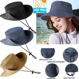 Men Women UV Protection Sun Visor Hat Cap Wide Brim Floppy H