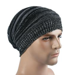 King Star Mens Knitted Baggy Beanie Hat Slouchy Winter Warm
