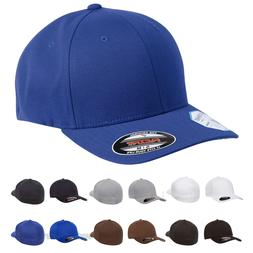 FLEXFIT Mens Pro-formance Fitted Structured Cap Blank Hat S/