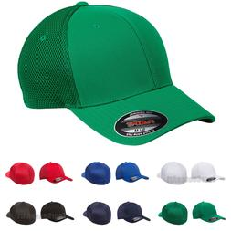 FLEXFIT Mens Ultrafiber Cap with Air Mesh Sides Fitted Truck