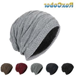 RoxCober Mens Winter Skullies Beanies Knitted Cotto Stocking