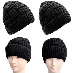 Loritta Mens Winter Warm Knitting Hats Wool Baggy Slouchy Be