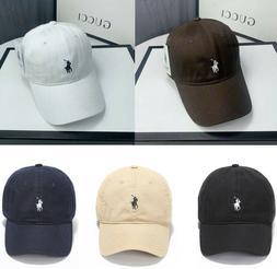 Mens Womens Cotton Baseball Caps Golf Sports Peak Cap Adjust
