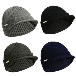 Mens Womens Winter Beanies Hat Skullies Winter Warm Knitted