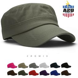 Military Hat Army Cadet Patrol Castro Cap Men Women Golf Bas