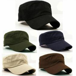 Military Hats Army Cadet Patrol Castro Caps Men Women Golf B