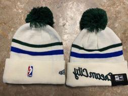 Milwaukee bucks cream city fleece lined winter hat