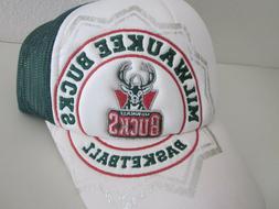 MILWAUKEE BUCKS Adidas NBA Basketball Hat Cap Adjustable Sna