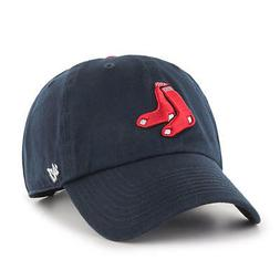 MLB Boston Red Sox Men's '47 Brand Alternate 1 Clean Up Cap,
