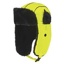 Ergodyne N-Ferno 6802 Classic Hi-Visibility Lime Trapper Hat