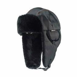 Ergodyne N-Ferno 6802 Thermal Winter Trapper Hat, Black, Lar