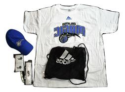 adidas NBA Orlando Magic Fan Combo Pack Bag Hat Shirt Bands