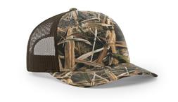 New Richardson 112P Printed Trucker Ballcap Hat Mossy Oak Re