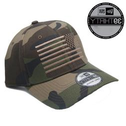 New - New Era 39Thirty American Flag Fitted CAMO Hat/Cap - F