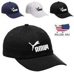 New Adjustable Fit Puma Golf Baseball Cap Embroidered Cat Un