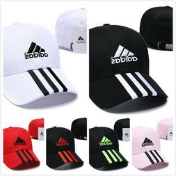 NEW Baseball Cap Adjustable Embroidered Adida Cotton Sun Vis
