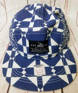 NEW City Hunter Blue White Strapback Baseball Hat Cap CITYHU