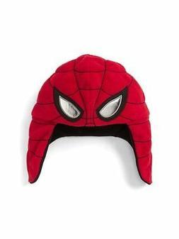 NEW Boys Toddler Gap Marvel Spiderman Fleece Winter Hat xs/s
