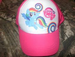 New Girl's My Little Pony Youth Baseball Cap/Hat w/Snapback