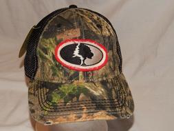 NEW Mossy Oak Hat Truckerc Slouch Cap Camo Deer Hunting Stre