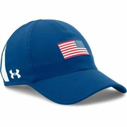 New Men's UNDER ARMOUR - 1289358-456 USA AMERICAN FLAG OLYMP