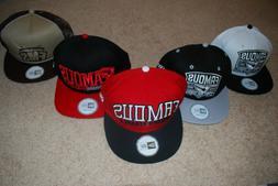 NEW Men's Famous Stars and Straps New Era Snapback Hats