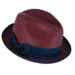 New Epoch Hats Company Men's Fedora with Contrast Band and T