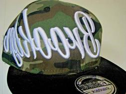 New KBETHOS Men's Hat Cap Brooklyn Camouflage Snap-Back  Pre
