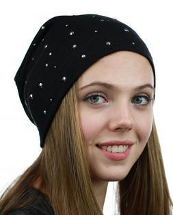 NEW! NYFASHION101 Unisex Comfort & Warm Knit Studded Slouchy