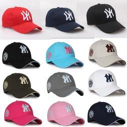 NEW Unisex NY Embroidery Yankees Baseball Cap Mens Women Spo
