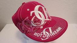 New City Hunter Washington DC Hat Cap Fitted Size S Pink