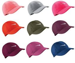 New Nike Women's Feather Light Swoosh Hat Dri Fit Tennis Cap