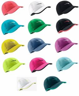 New Nike Womens Feather Light Swoosh Hat Dri Fit Tennis Cap
