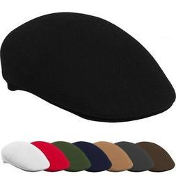 Kbethos Newsboy Wool Felt Gatsby Cap Mens Ivy Hat Golf Flat