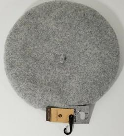 NYFashion101 Beret Hat Gray Wool