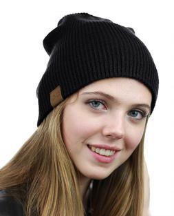 NYFASHION101 Unisex Comfort & Warm Knitted Daily CC Beanie H