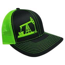 Richardson OilField Drilling Rig Snapback Hat, Trucker Cap f