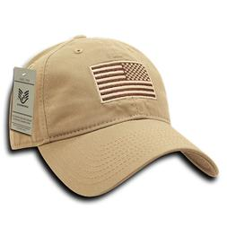 Olive USA US American Flag Tactical Operator Mesh Flex Baseb