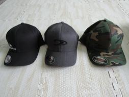 ONEILL MENS FLEXFIT HATS CAMO BLACK GRAY NWT