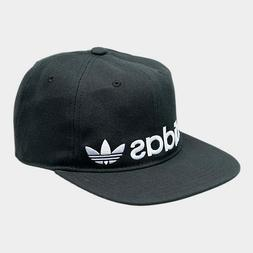 Adidas Originals Men's Banner Hat Black White Relaxed Adjust