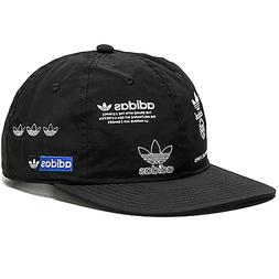 ADIDAS Originals Stamp Hat Cap all over logos running trefoi