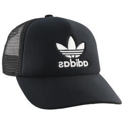 Adidas Originals Trucker Hat Cap Trefoil Black Mens Womens S