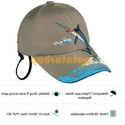 Outdoor Fishing Hat Waterproof Cap For Boys and Girls Quick-