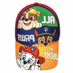 Nickelodeon Paw Patrol Character Toddler Boys Cotton Basebal
