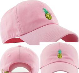 Kbethos Pineapple Dad Hat Baseball Cap Polo Style Unconstruc
